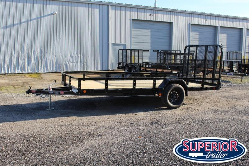2021 PJ Trailers 6x14 U7 w/ Fold In Gate