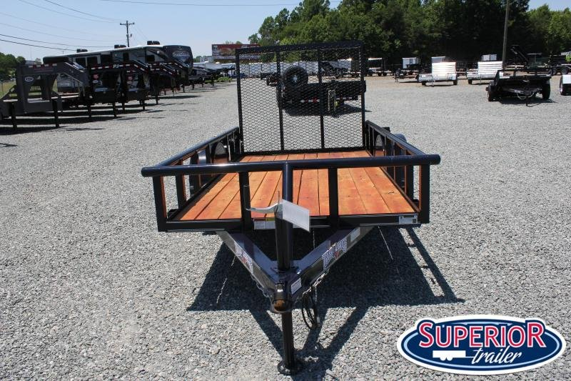 2020 Texas Bragg 5X10P w/ Gate