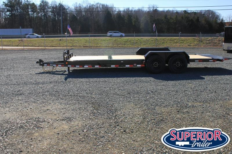 2021 PJ Trailers 22ft TJ 16K Tilt Equipment Trailer