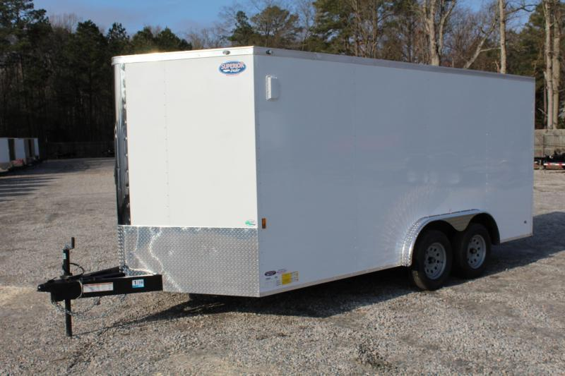 2019 Continental Cargo 8X16 w/Ramp Door