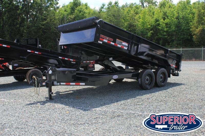 2021 Midsota HV-16 7x16 Tandem Axle Dump Trailer