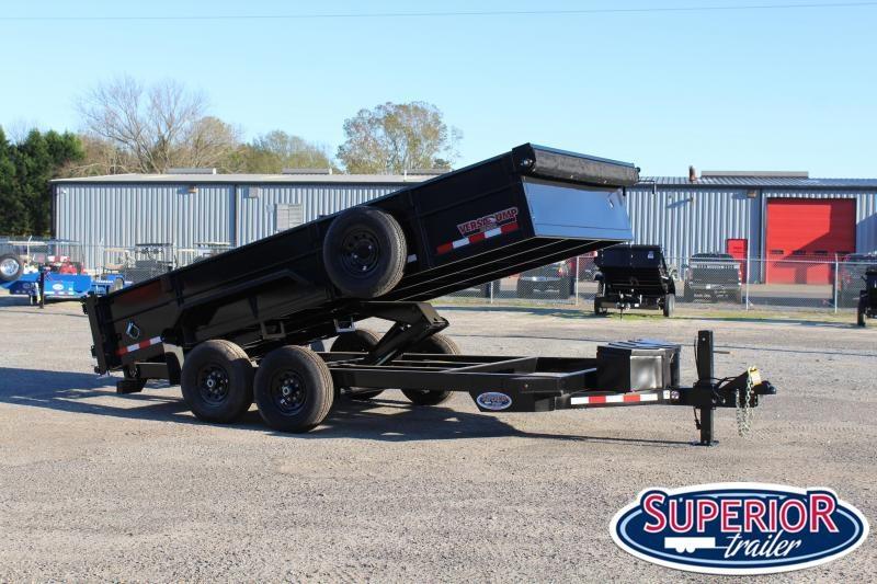 2021 Midsota HV-16 7x16 14K Tandem Axle Dump Trailer