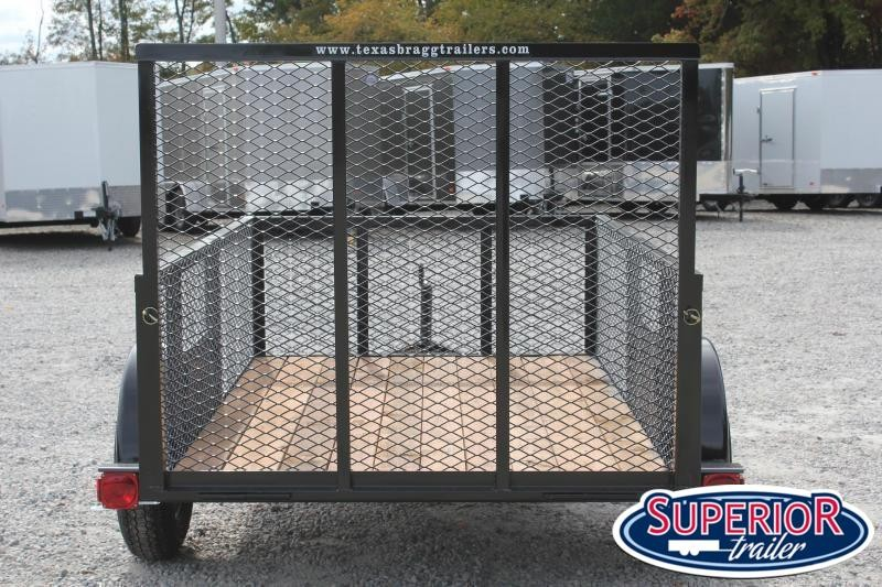2021 Texas Bragg 5x8LD w/ 2ft Expanded Sides & Gate