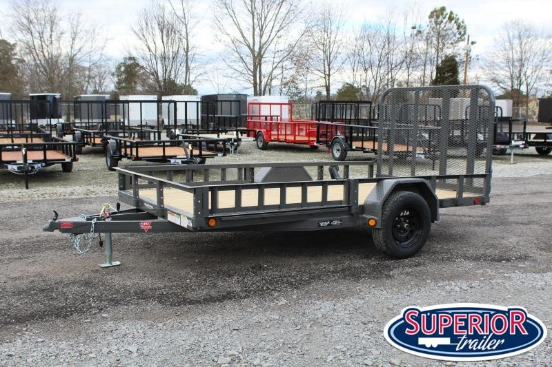 2021 PJ Trailers 6x12 U7 w/ ATV Ramps & Gate