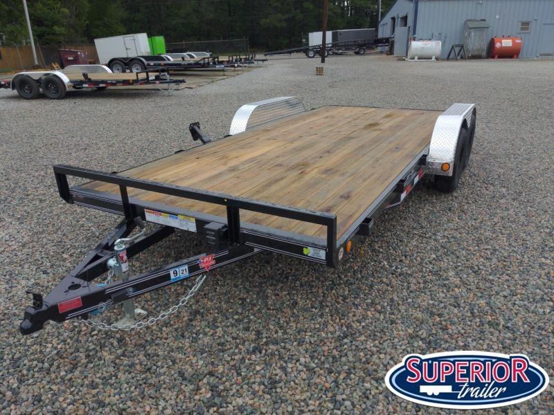2021 PJ Trailers 18' C4 7K Car / Racing Trailer