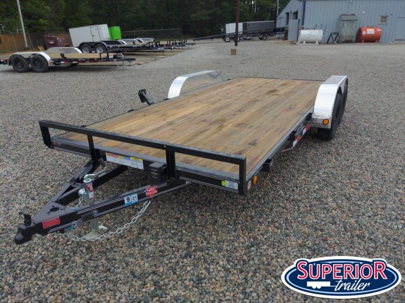 2021 PJ Trailers 18' C4 7K Car / Racing Trailer