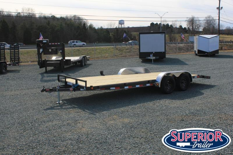 2021 PJ Trailers 18 C4 7K Car / Racing Trailer