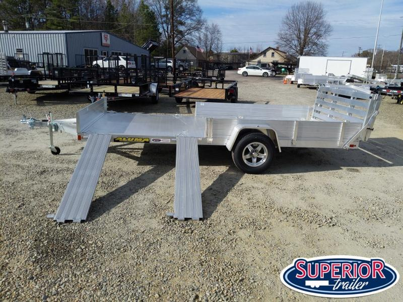 2022 Aluma 8114SR w/ Side Ramps Solid Sides and Bi Fold Gate