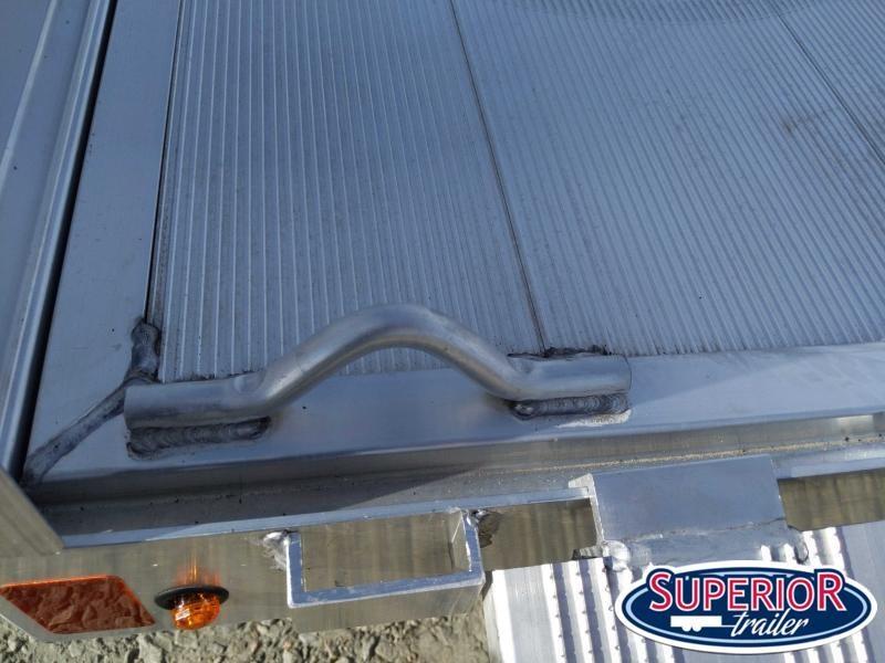 2022 Aluma 8114SR w/ Side Ramps Solid Sides and Bi Fold Gate