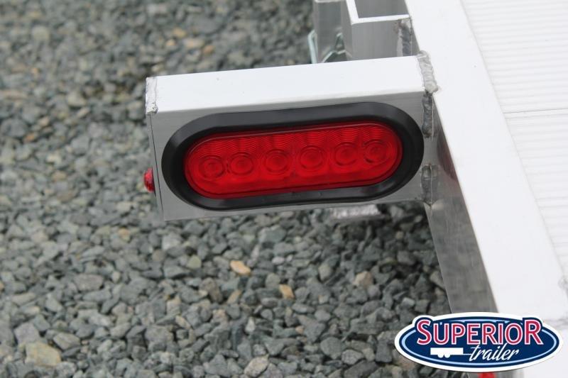 2022 Aluma 8216 Low Clearance Tilt Car Trailer w/ JT Package