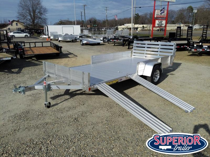 2020 Aluma 8114SR w/ Side Ramps Solid Sides and Bi Fold Gate