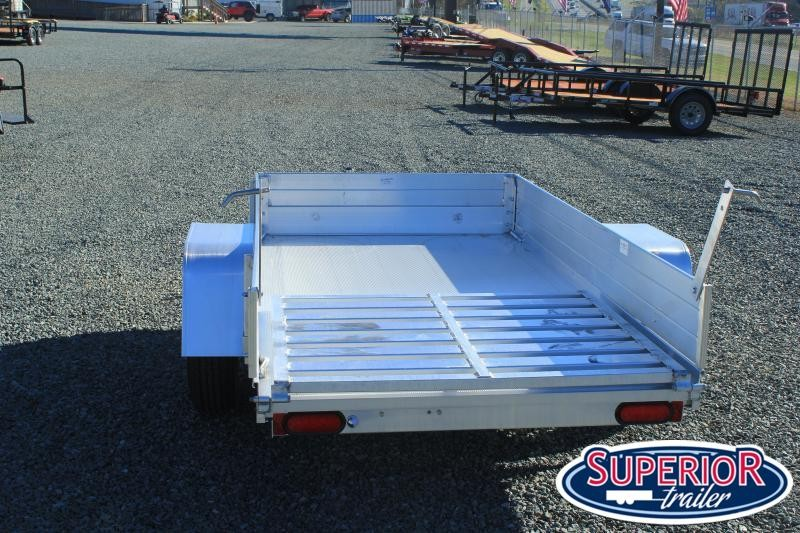 """2021 Aluma 548 LW w/ 12"""" Solid Sides and Tailgate"""