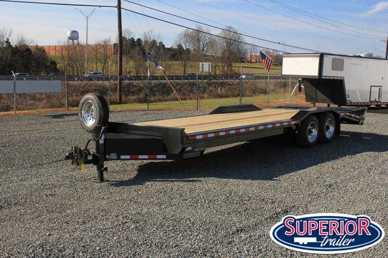 2021 Midsota STWB-24 Wide Body Equipment Trailer