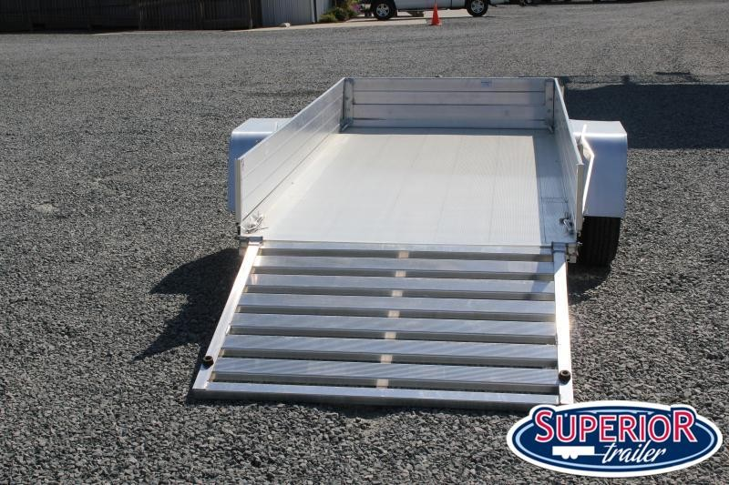 """2022 Aluma 5410 LW w/ Tailgate and 12"""" Solid Sides"""