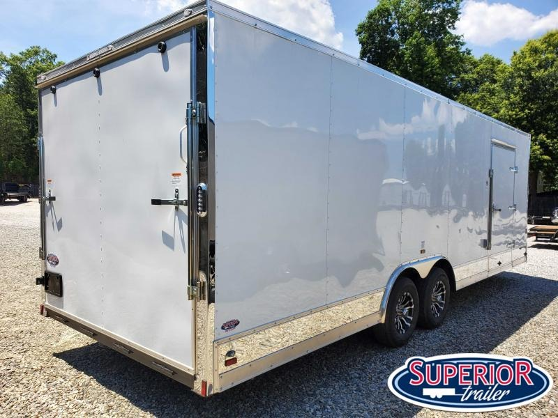 2021 Continental Cargo 8.5X24 10K  LOADED Car Trailer
