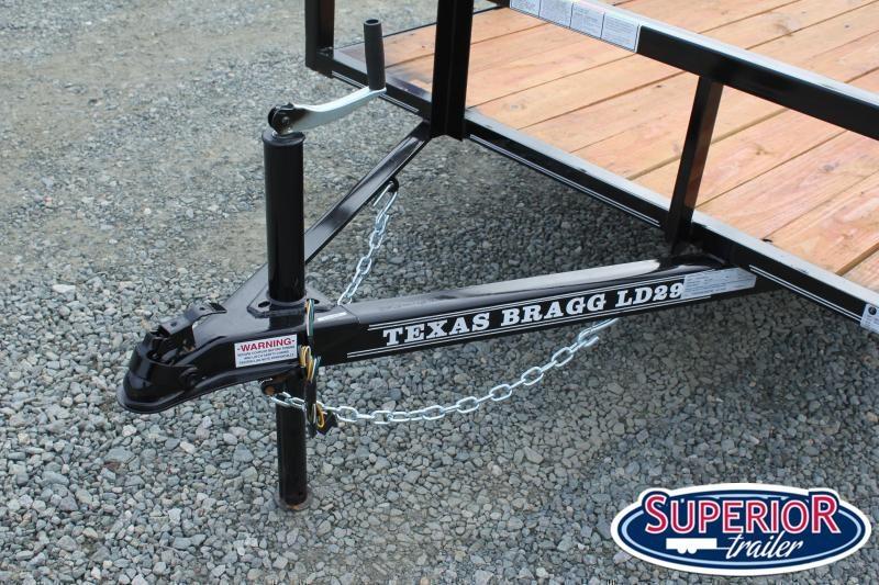 2021 Texas Bragg 5x10LD w/ Ramp