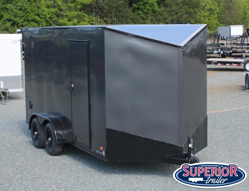 """2020 Bravo Scout 7x16 w/ 12"""" Extra Height and Ramp"""