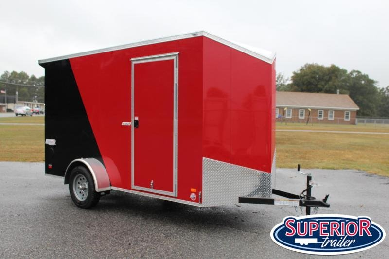 """2020 Bravo Scout 6x12 w/ 6"""" Extra Height and Ramp Door"""