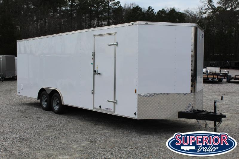 2021 Continental Cargo 8.5X24 10K Enclosed Car Trailer w/ Ramp