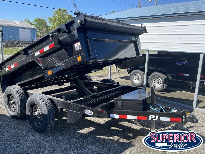 2021 PJ Trailers 6x10 D3 10K Dump w Ramps and Tarp