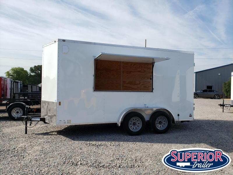 2021 Continental Cargo 7X14 Vending/Concession Trailer