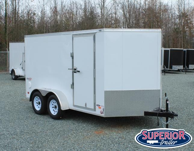 2021 Bravo Scout 7X12 w/ Ramp Door