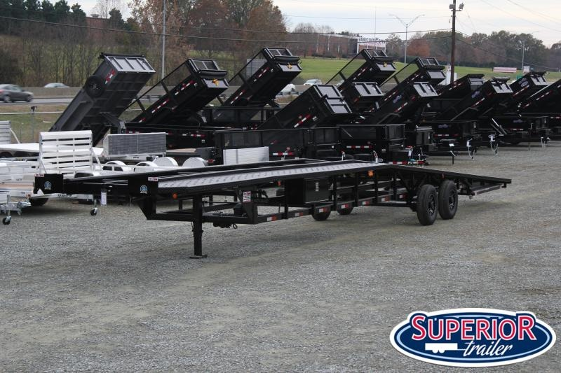 2019 Take 3 48' Ultra Low Pro Wedge 3 Car Trailer w/ Winch and Disc Brakes