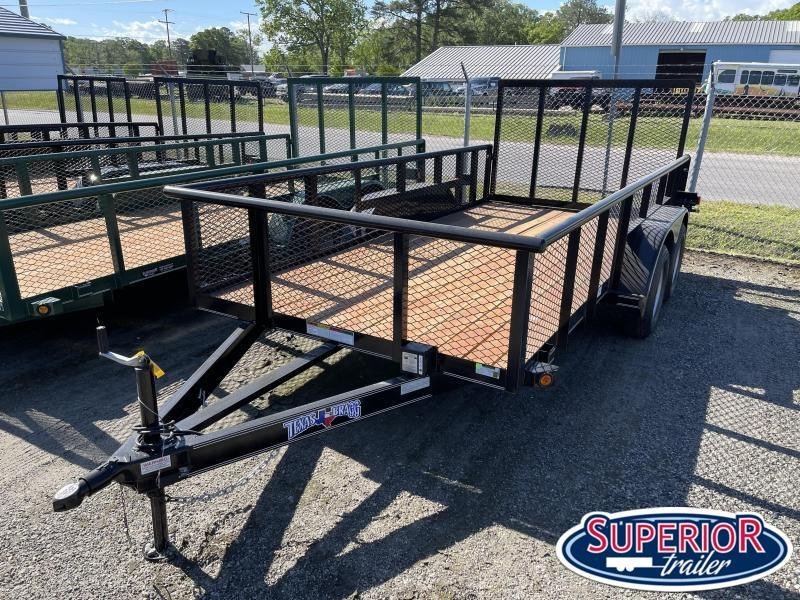 2021 Texas Bragg 14P 2ft Expanded Sides and Gate