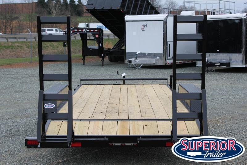 2021 Down 2 Earth 18ft 10K w/ Fold Up Ramps