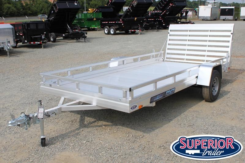 2022 Aluma 7814ES w/ Ladder Rack Sides and Tailgate