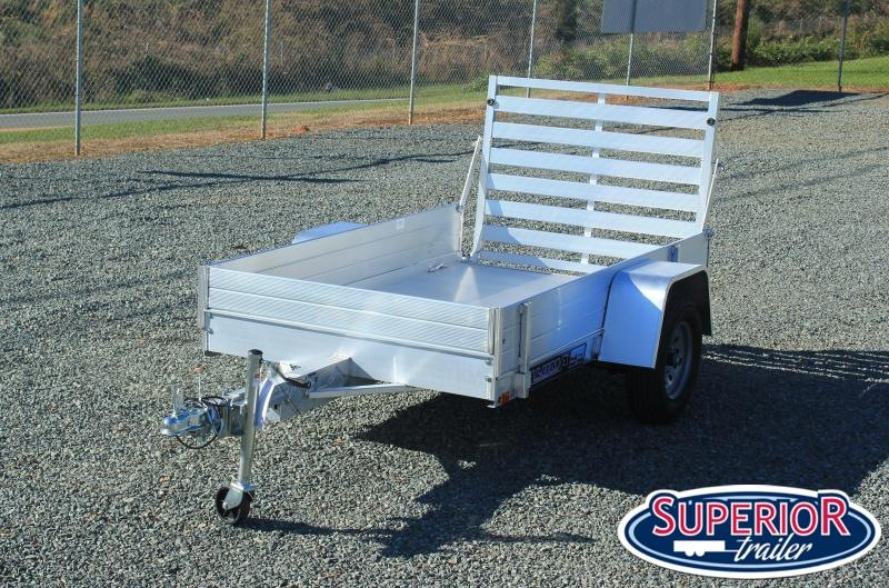 """2022 Aluma 548 LW w/ 12"""" Solid Sides and Tailgate"""