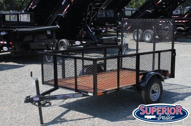 2020 Texas Bragg 5X8LB w/ 2ft Expanded Sides and Gate