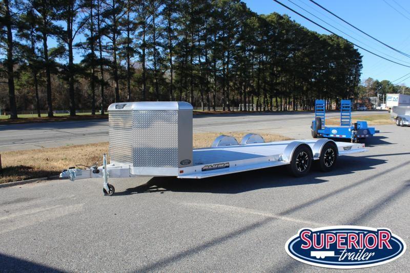 2020 Aluma 8220-XL Car Trailer w/ Front Box