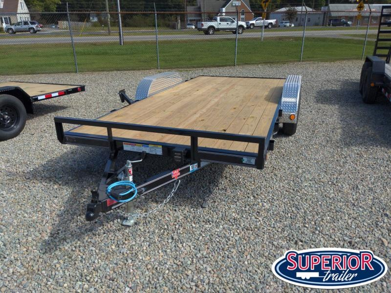 2021 PJ Trailers 16' C4 7K Car / Racing Trailer