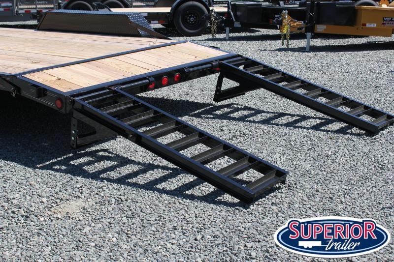 2020 PJ Trailers 18 CE 10K w/ Fold Up Ramps
