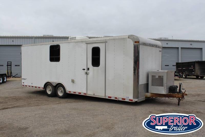 2005 Pace 8.5x24 Enclosed Contractor Trailer Enclosed Cargo Trailer