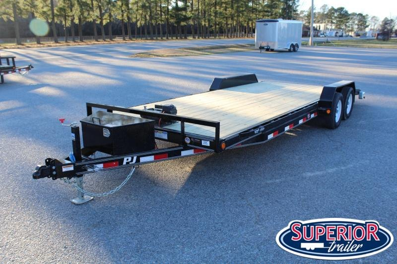 2019 PJ Trailers 22' C5 7K Car / Racing Trailer