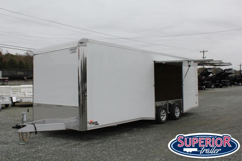 2020 Bravo ALUMINUM Silver Star 8.5X24 10K w/ Full Escape Door