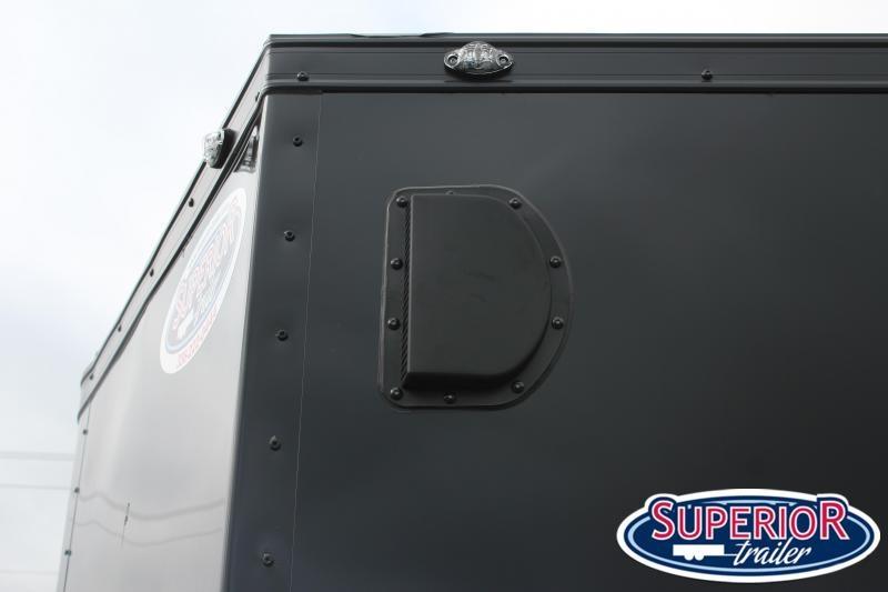 2020 Continental Cargo 7x14 Blk Out Pkg w/ Ramp Door