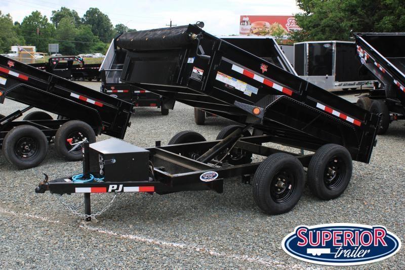 2022 PJ Trailers 5X10 D5 7K Dump w/ Tarp