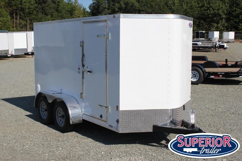 2021 Continental Cargo 6X12 7K w/ Ramp Door