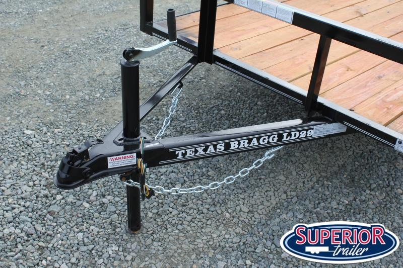 2020 Texas Bragg 5x10LD w/ Ramp