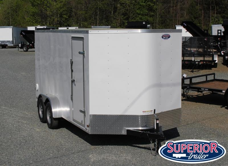 2020 Haulmark Passport 7x16 w/ Double Rear Doors