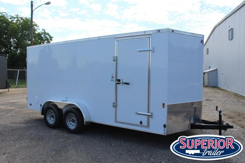 2021 Continental Cargo 7X16 w/ Double Rear Doors