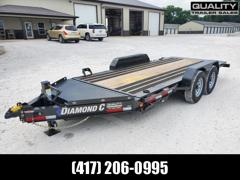 2020 Diamond C Trailers HDT 16X82 14K Full Bed Tilt Equipment Trailer