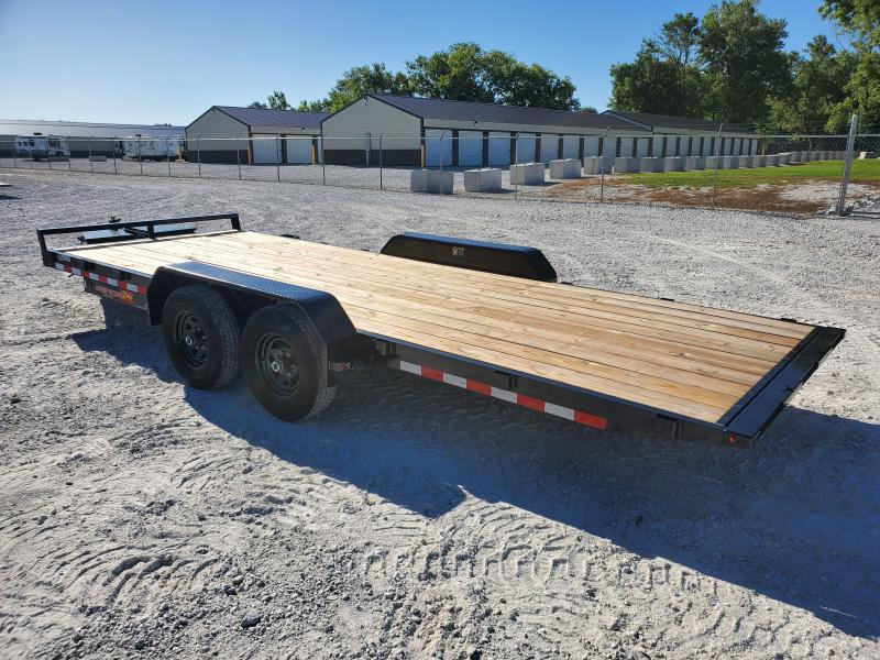 2021 H and H Trailer 82x20 Manual Tilt Speed Loader Car Haule