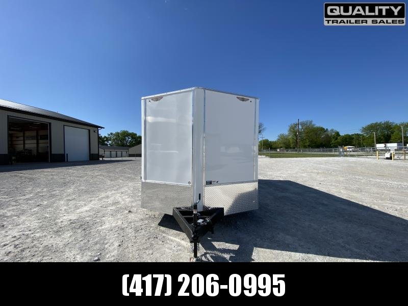 2021 H and H Trailer 8.5x20 HH Series Flat Top V-Nose Enclosed   10K
