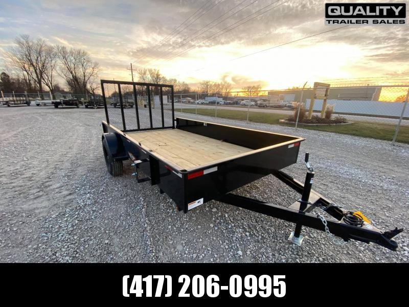 2021 H and H Trailer 76X12 STEEL SOLID SIDE 3.5K