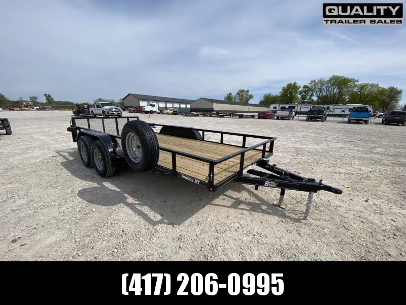 2021 Bulldog 7 X 16 DOVE Utility Trailer  7K