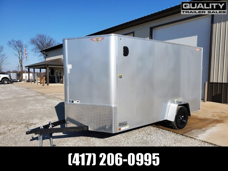 """2020 H and H Trailer 7X12 SINGLE 3.5K CARGO w/6'6"""" Height"""
